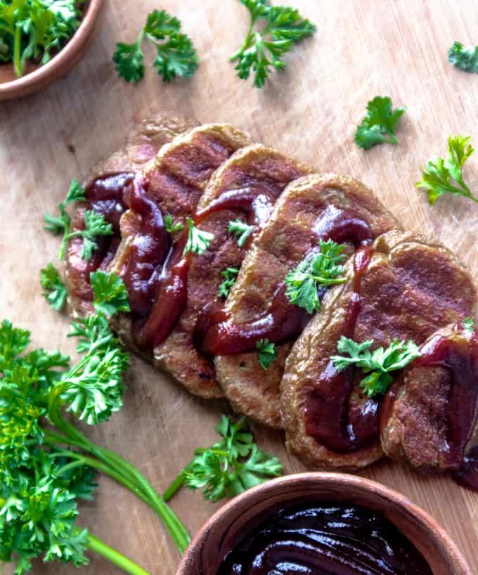 BBQ Seitan Steak